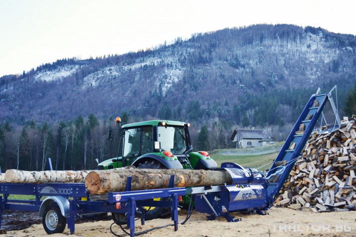 Машини за дърводобив Tajfun RCA 400 JOY 0 - Трактор БГ
