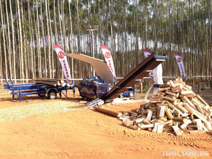 Машини за дърводобив Tajfun RCA 400 JOY 4 - Трактор БГ