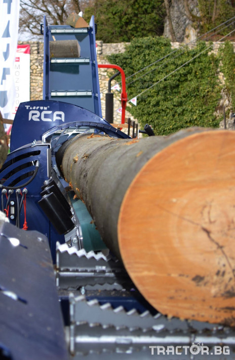 Машини за дърводобив Tajfun RCA 400 JOY 6 - Трактор БГ