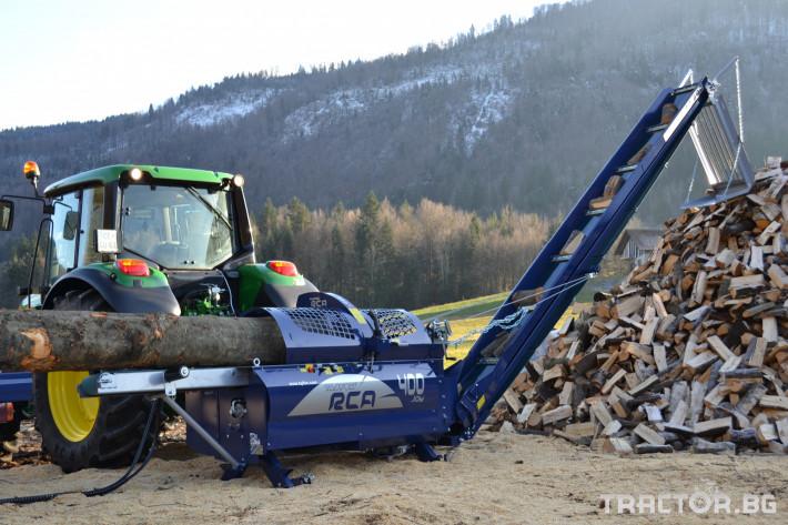 Машини за дърводобив Tajfun RCA 400 JOY 8 - Трактор БГ