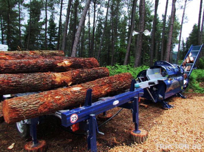 Машини за дърводобив Tajfun RCA 400 JOY 9 - Трактор БГ
