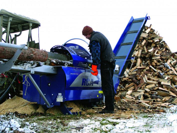 Машини за дърводобив Tajfun RCA 400 JOY 10 - Трактор БГ