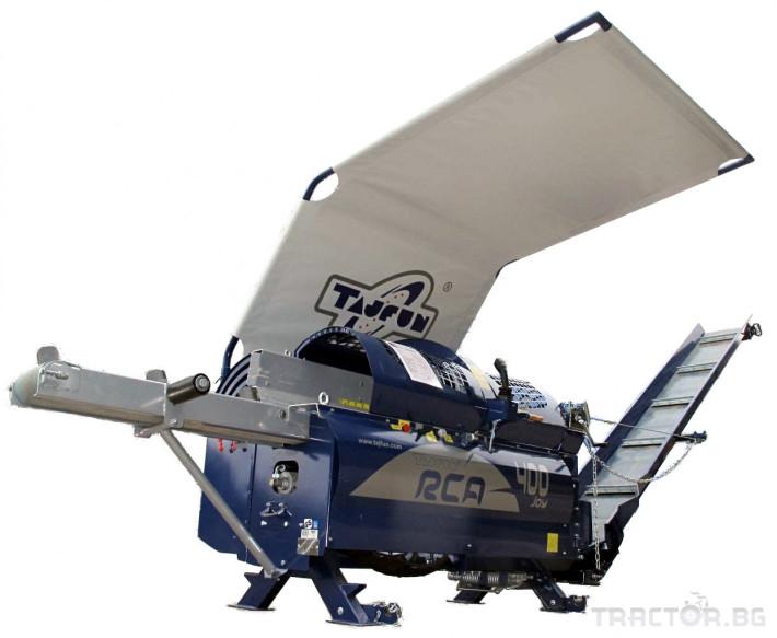 Машини за дърводобив Tajfun RCA 400 JOY 11 - Трактор БГ