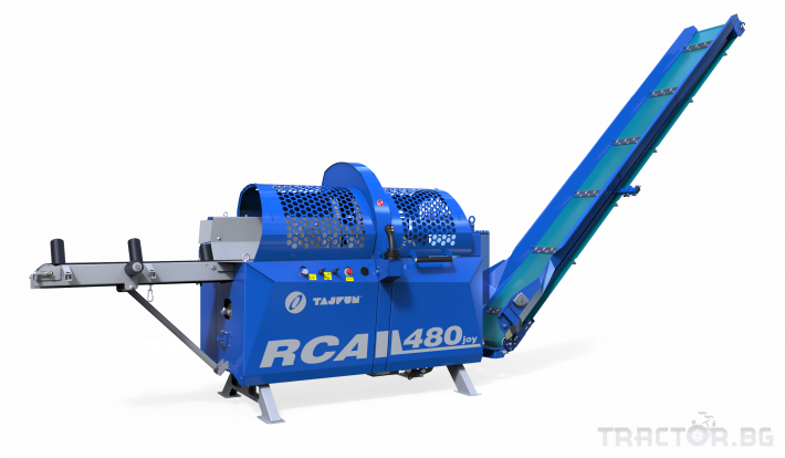 Машини за дърводобив Tajfun Процесор за рязане и цепене RCA 480 JOY 0 - Трактор БГ
