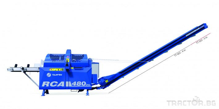 Машини за дърводобив Tajfun Процесор за рязане и цепене RCA 480 JOY 1 - Трактор БГ