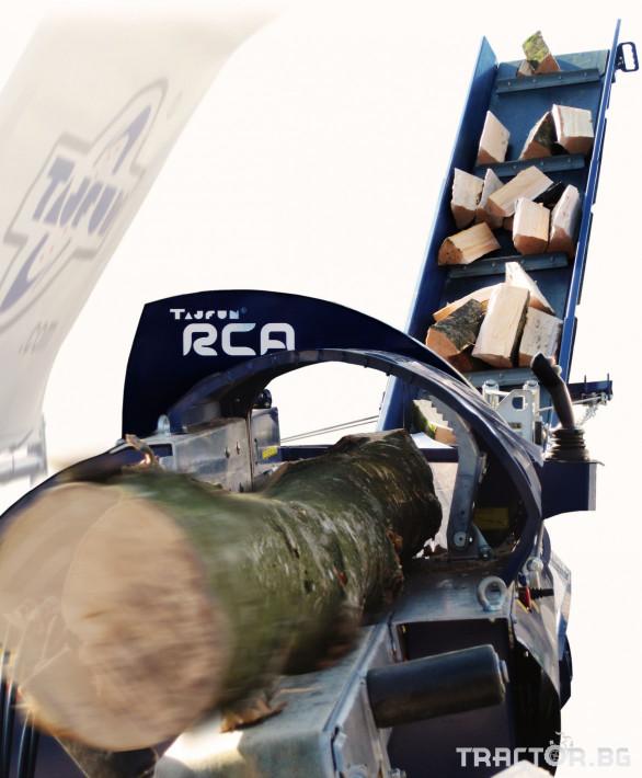 Машини за дърводобив Tajfun Процесор за рязане и цепене RCA 480 JOY 13 - Трактор БГ