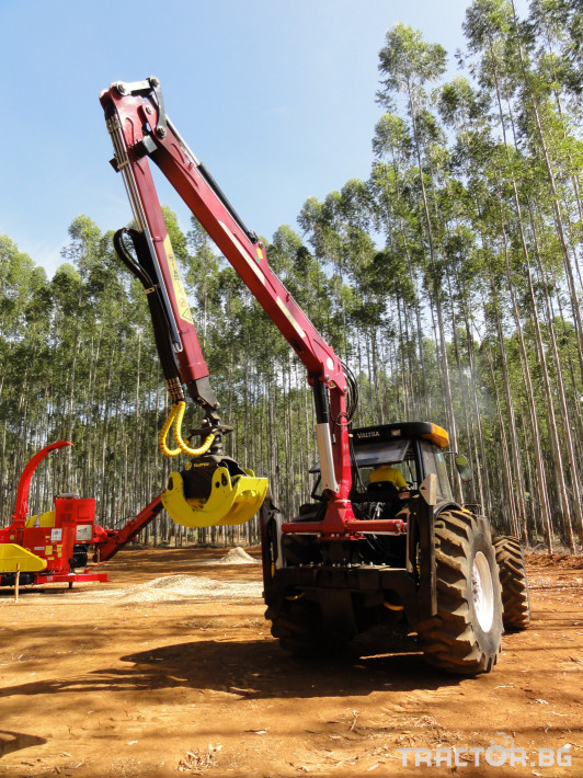 Машини за дърводобив Tajfun Горски кран за трактор DOT 50 K 1 - Трактор БГ