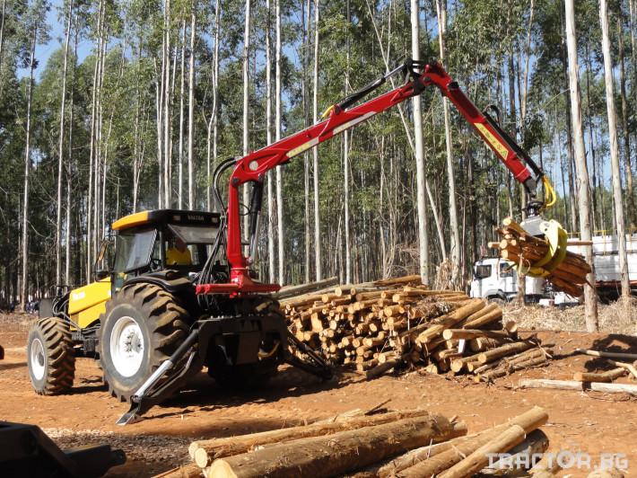 Машини за дърводобив Tajfun Горски кран за трактор DOT 50 K 2 - Трактор БГ