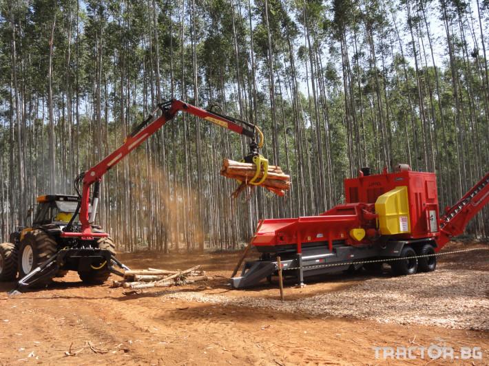 Машини за дърводобив Tajfun Горски кран за трактор DOT 50 K 3 - Трактор БГ