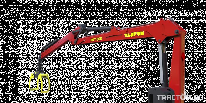 Машини за дърводобив Tajfun Горски кран за трактор DOT 50 K 5 - Трактор БГ