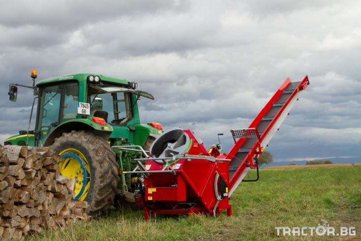 Машини за дърводобив AMR QUATROMAT Автоматичен Барабанен циркуляр 1 - Трактор БГ