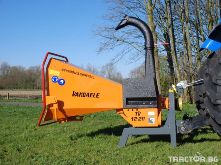 Машини за дърводобив VANDAELE TV 120 0 - Трактор БГ