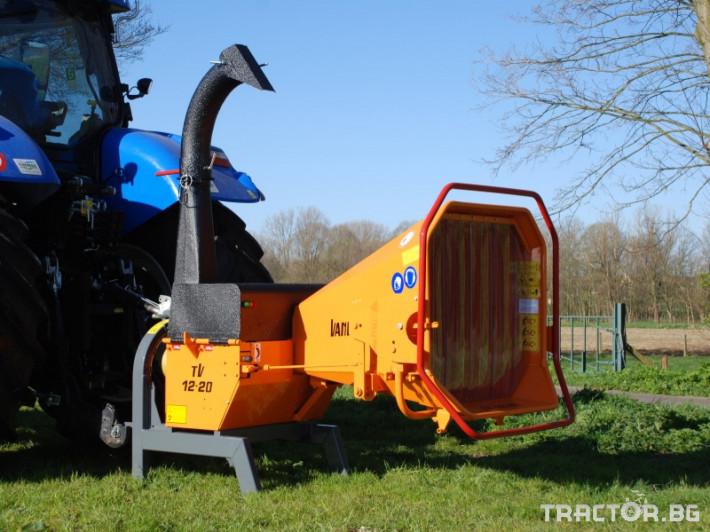 Машини за дърводобив VANDAELE TV 120 1 - Трактор БГ