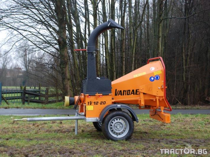 Машини за дърводобив VANDAELE TV 120 2 - Трактор БГ