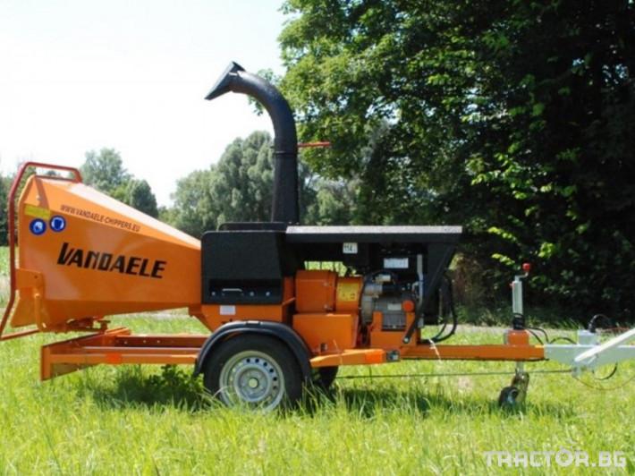Машини за дърводобив VANDAELE TV 120 3 - Трактор БГ