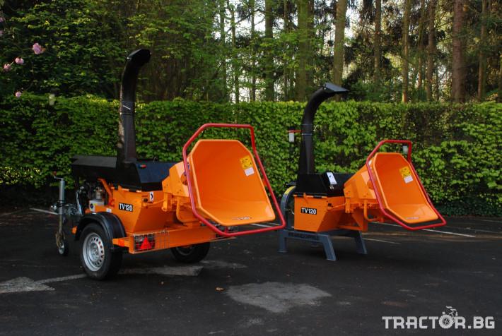 Машини за дърводобив VANDAELE TV 120 6 - Трактор БГ