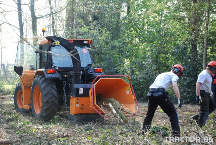 Машини за дърводобив VANDAELE TV 120 7 - Трактор БГ